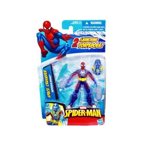 SpiderMan 2010 Series Four 3 3/4 Inch Action Figure Space Crusader SpiderMan - 1