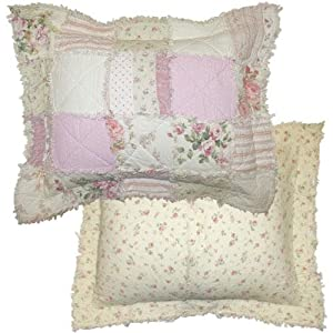 Cottage Rose Standard Sham Set