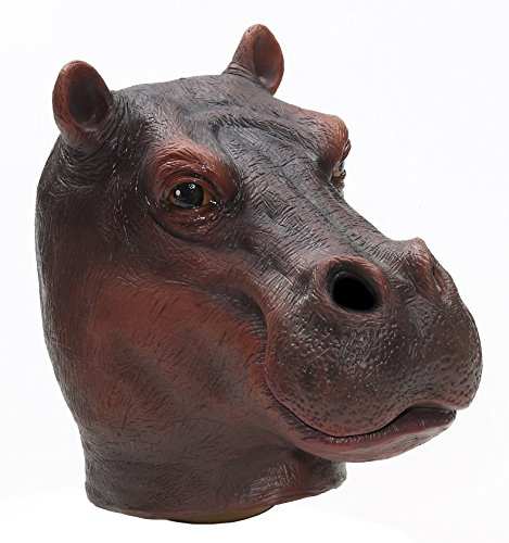 Forum Novelties Men's Adult Latex Hippo Mask