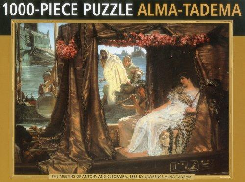 Antony and Cleopatra by Alma Tadema: 1000-Piece Puzzle (1000 Piece Jigsaws)
