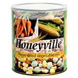 Freeze Dried Vegetable Mix - 1.5 Pound Can