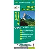 Top75001 Massif du Vercors 1/75.000