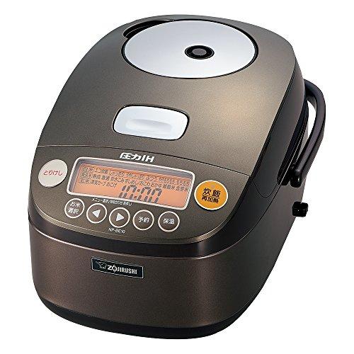 Zojirushi IH Pressure Rice cooker Iron coat Platinum Atsukama 5.5 Go Dark Brown NP-BE10-TD (Zojirushi Platinum Rice Cooker compare prices)