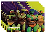 Zak! Designs Placemat with Teenage Mutant Ninja Turtles Graphics, Set of 4, BPA-free Plastic