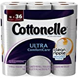Cottonelle Ultra Toilet Paper Double Roll, 18 Count