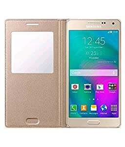 Flip Cover For Samsung Galaxy J2-Gold With Free Key Ring
