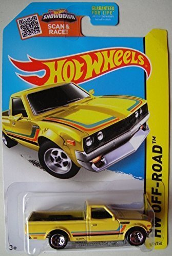 HOT WHEELS HW OFF-ROAD 2015 HW HOT TRUCKS YELLOW DATSUN 620 125/250 (2015 Hot Wheels Datsun compare prices)