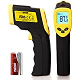 Etekcity Lasergrip 1080 (ETC 8550) Temperature Gun Non-contact Digital Laser Infrared IR Thermometer, -58~+1022°F, 12:1 D:S, Instant-read, FDA/FCC/CE/ROHS Approved
