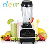 Clevr Commercial Ice Juicer Smoothie Blender 2+ h.p. Mixer Professional 1200watt