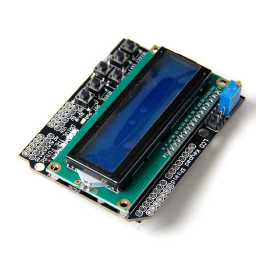 1602 LCD Board Keypad Shield Blue Backlight For Arduino Duem