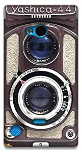The Racoon Vintage Camera printed designer hard plastic back case for Nokia Lumia 720