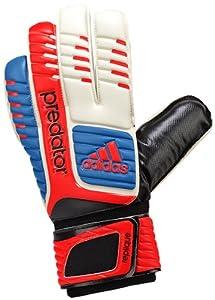 adidas Predator Replique Goalie Glove (White/Bright Blue/Infrared, 4)