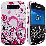 CellBig B- Floral Gel Case Cover Pouch Mask Wallet Pocket Holster For Your CellBig Blackberry Bold 9700