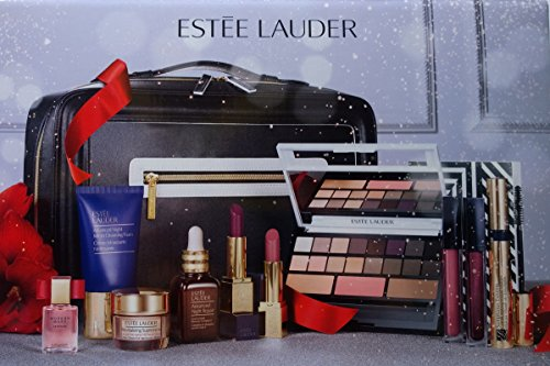 estee lauder 2016 blockbuster holiday make up gift set wtrain case smoky noir