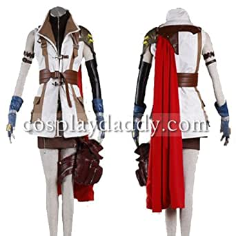 FF13 Final Fantasy XIII Lightning Cosplay Costume