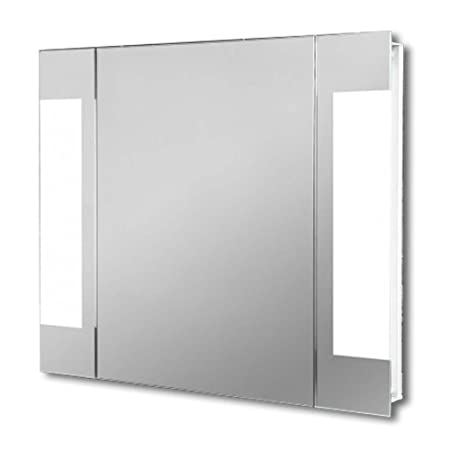 Light Mirrors Enlighten Halo Range Bathroom Mirror, Touchless Power Infra Red Sensor Demist & Shaver