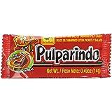 Pulparindo EXTRA HOT Tamarind Pulp Candy 20 count