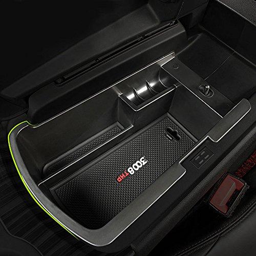 car-center-console-armrest-box-glove-box-secondary-storage-fit-peugeot-3008-unique-extensive-storage