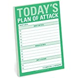 Knock Knock Sticky Note Pad, Today's Plan of Attack (12538)