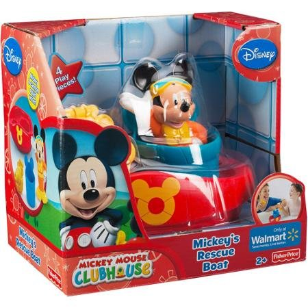 Disney Mickey Mouse Clubhouse - Mickey's Rescue Boat - 1