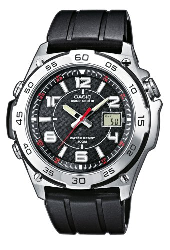 Casio WVQ-143E-1AVER Wave Ceptor Analogue Resin Watch
