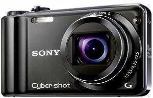 Sony DSCHX5VB Cyber-shot Digital Camera - Black (10MP, 10x Optical Zoom) 3 inch LCD