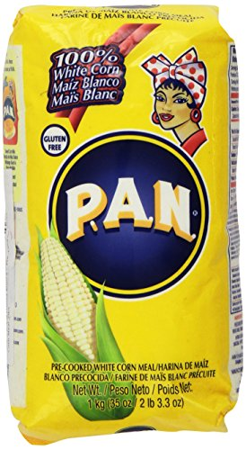 P.A.N Harina Blanca - Pre-cooked White Corn Meal 2lbs 3.3oz (Pan Corn Flour compare prices)