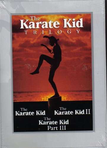 THE KARATE KID TRILOGY----PTS 1,2, AND 3 !---DVD SET