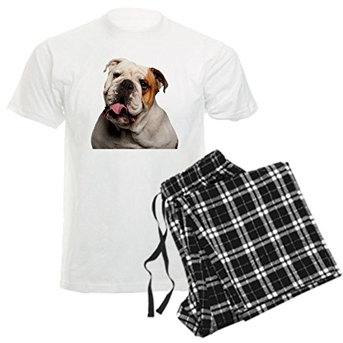 CafePress - Bulldog Men's Light Pajamas - Unisex Novelty Cotton Pajama Set, Comfortable PJ Sleepwear (Bulldog Night Light compare prices)