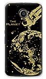 携帯電話taro Y!mobile Nexus 6 ケース カバー (地球 金箔) Google Nexus6-OCA-02613 の中古画像