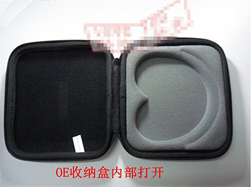 Black Portable Headphone Headset Earphone Case Box Pouch Bag For Bose On Ear Oe Oe2 Oe 2