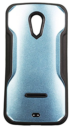 Zeztee ZT6539 Glossy metal finish plastic back cover Designed for MOTOROLA MOTO G2