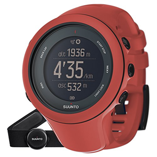 Suunto Ambit3 Sport GPS Watch & Heart Rate Monitor (Coral)