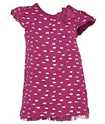 Pepperika Baby-Girls' Dress (Esgd3_12_Purple_9-12 Months)