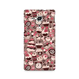 Ebby Sweet Tooth Premium Printed Case For Sony Xperia SP M35H
