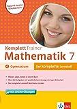 Klett Komplett Trainer Mathematik Gymnasium Klasse  7