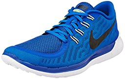Nike Free 5.0 2015 Mens Running Shoe, Blue, Size 14