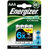 Energizer AAA 800mAh Rechargeable Batteries Carded 4