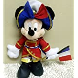 "Disney Mickey Mouse French General 10"" Plush Bean Bag Doll"
