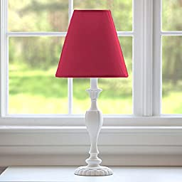 Carousel Designs Solid Red Lamp Shade