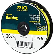 RIO Dacron Fly Line Backing 20 or 30 lb 100-5000 yd Options 3 Colors