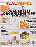 Real Simple Magazine October 2014