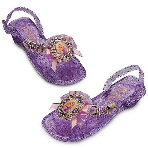 Disney Store Tangled Rapunzel Light Up Shoes