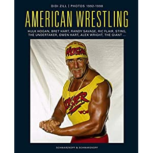 American Wrestling: Hulk Hogan - Bret Hart - Randy Savage - Sting - Triple H - Steve Austin & Rice F