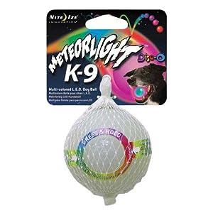 Nite Ize MTLP-08-07 MeteorLight K-9 Led dog ball, Disc-O
