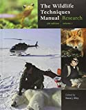 img - for The Wildlife Techniques Manual: Volume 1: Research. Volume 2: Management 2-vol. set book / textbook / text book