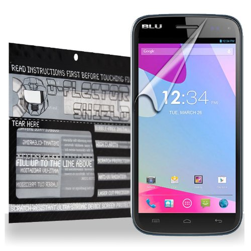 D-Flectorshield Blu Life Play S Scratch Resistant Screen Protector - Free Replacement Program front-163333