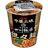 明星 中華三昧 タテ型 四川飯店担々麺 68g×12個