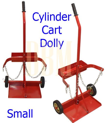 Small cylinder cart dolly welding mig oxy oxygen acetylene cart small cylinder cart dolly welding mig oxy oxygen acetylene cart greentooth Choice Image