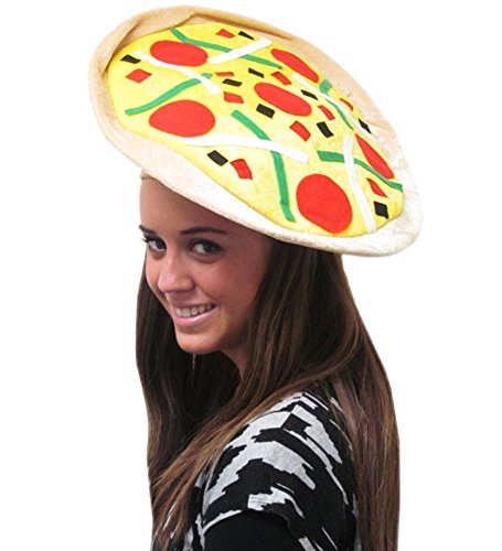 Pizza Hat - Fun Colorful Pizza Hat